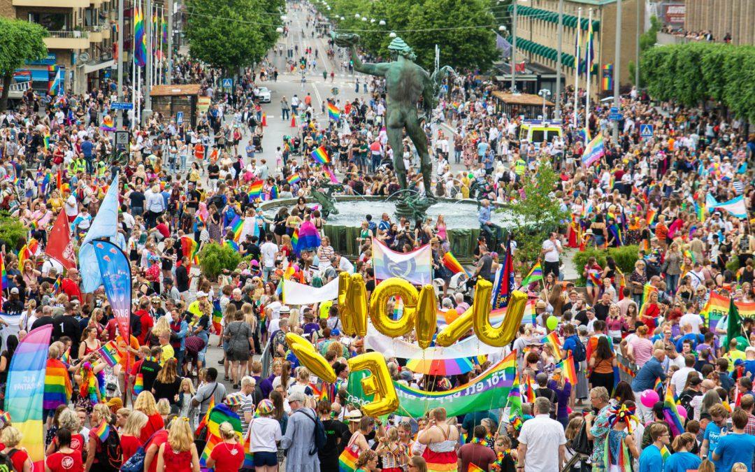West Pride flyttar festivalen