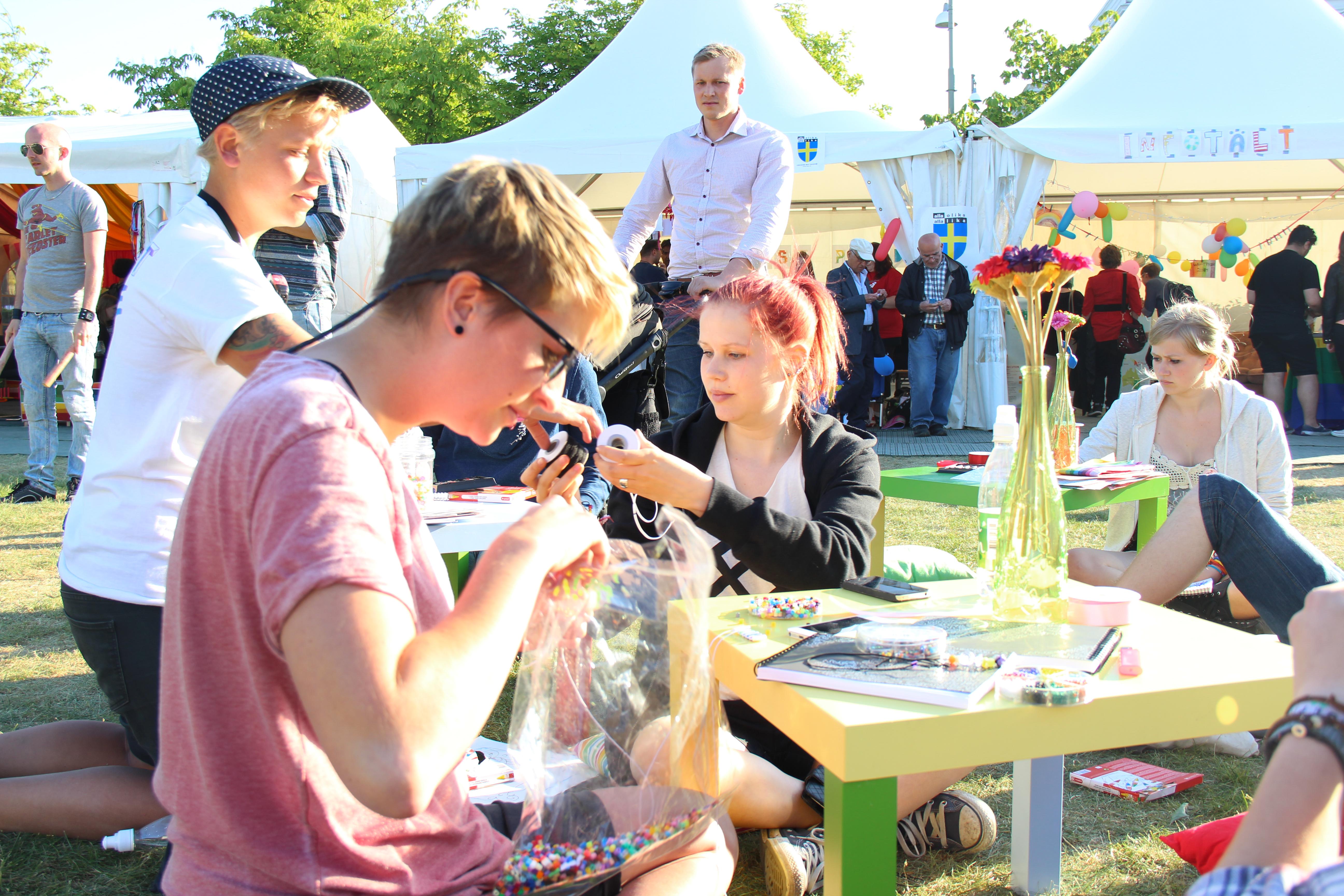 Nu söker vi dig som vill vara med och skapa Göteborgs färgstarkaste festival