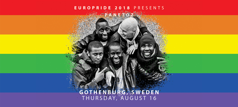 EuroPride 2018 presenterar stolt Panetoz