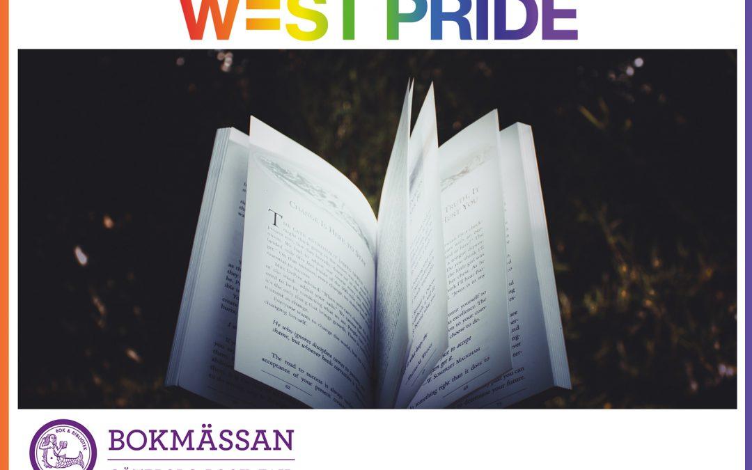 West Pride på Bokmässan 26-29 september 2019