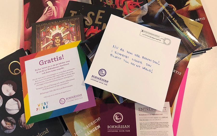 Finn en bok och vinn seminariekort i Bokmässans bookhunt!