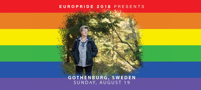 EuroPride 2018 presenterar stolt Christina Kjellsson
