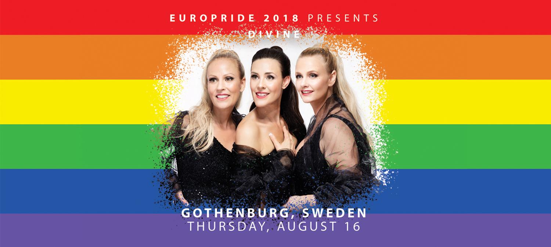 EuroPride 2018 presenterar stolt Divine till Göteborg
