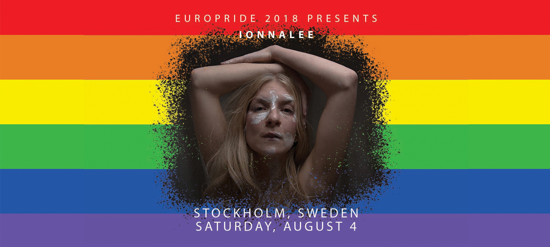 ionnalee till EuroPride 2018 Stockholm 4 augusti