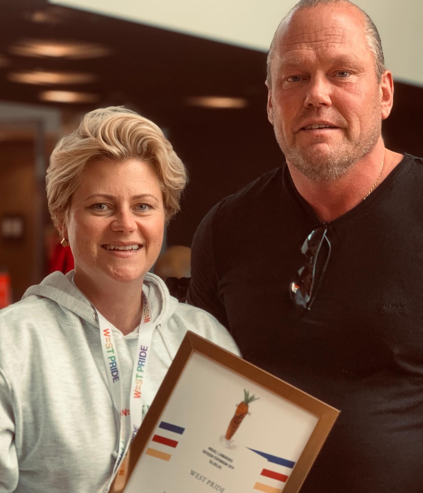 Mikael Ljungbergs minnesfond delar ut stipendium till West Pride