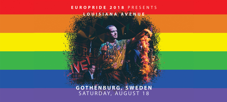 Louisiana Avenue till EuroPride Park Göteborg