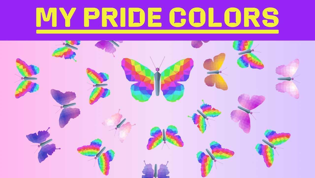 Skapa din egen pridefjäril på ny kampanjsajt – My Pride Colors