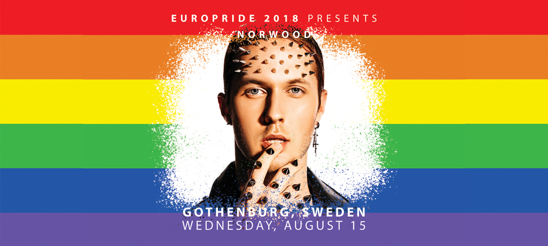 EuroPride 2018 presenterar stolt Norwood