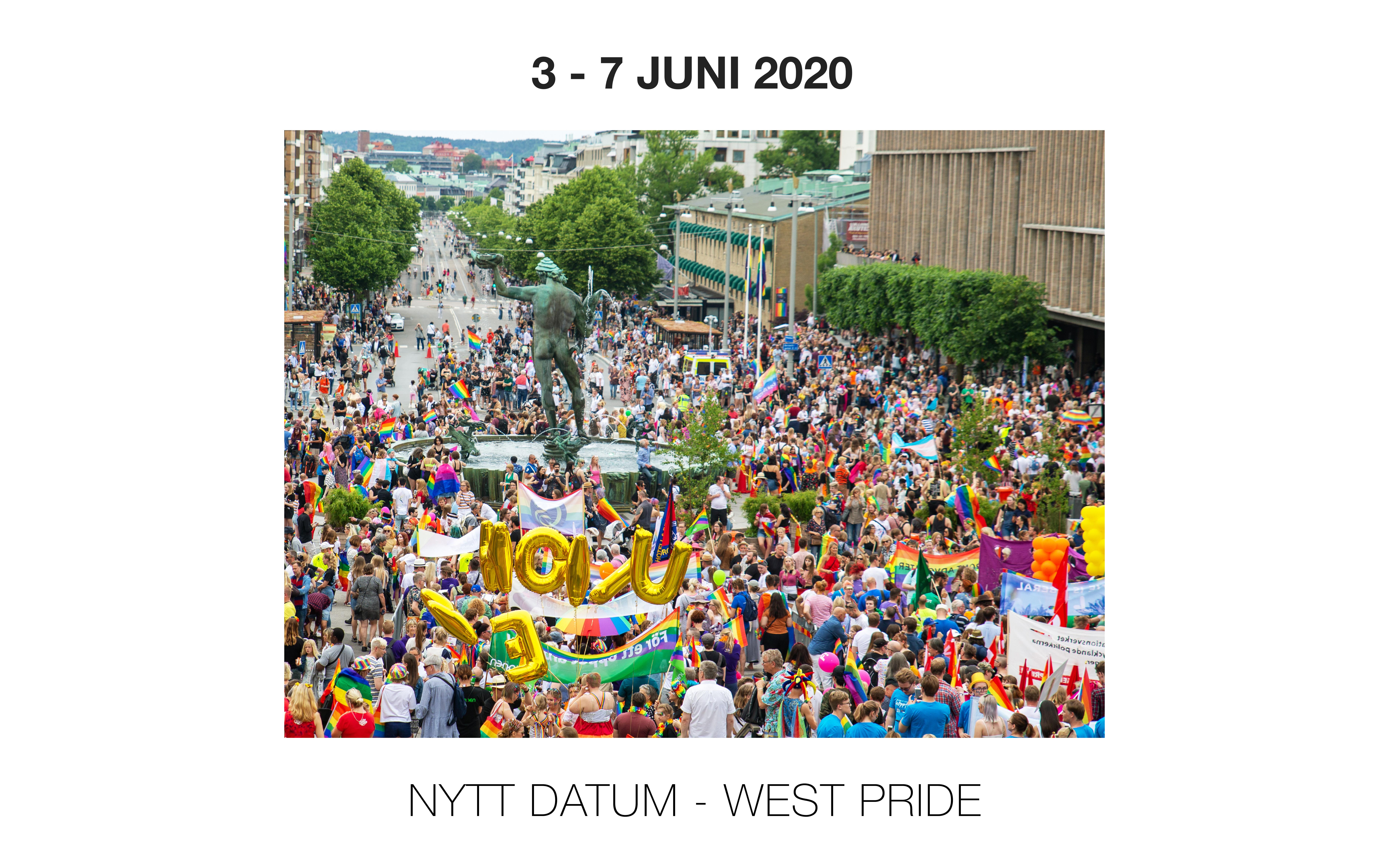 West Pride flyttar sin festival till förmån för Håkan Hellström-kärlek