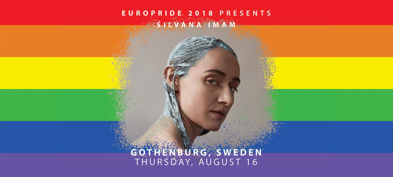 EuroPride 2018 presenterar stolt Silvana Imam