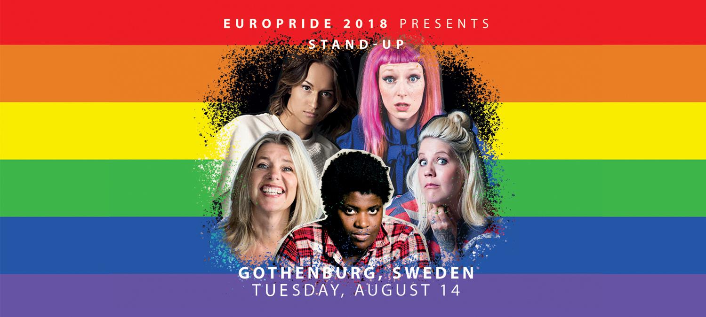 Stand-up på EuroPride 2018