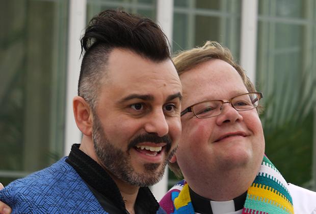 bild på Tasso Stafilidis och Lars Grårdfeldt