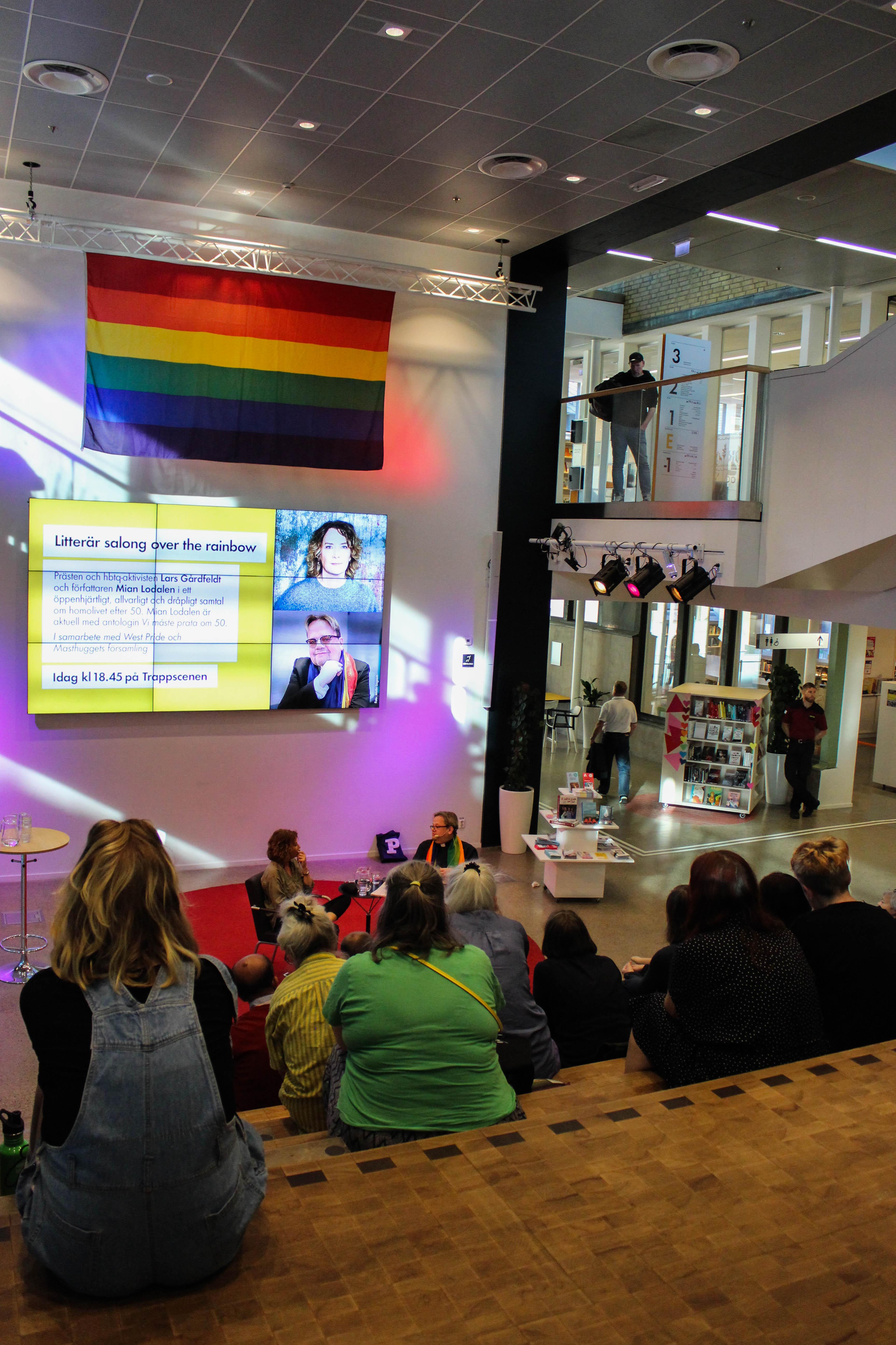 Lodalen och Gårdfeldt diskuterar homo över 50