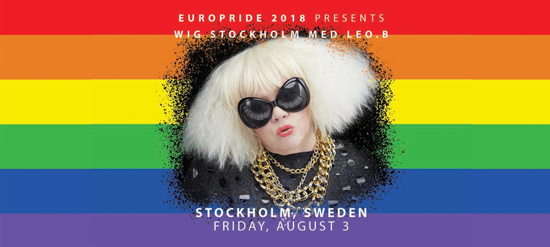 WIG Stockholm med Leo.B på EuroPride Stockholm fredag 2 augusti