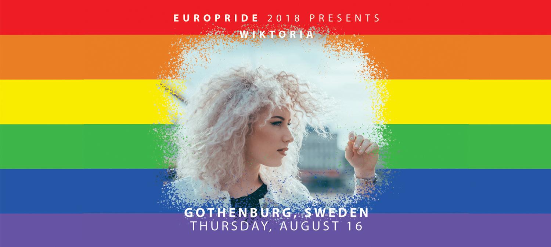EuroPride 2018 presenterar stolt Wiktoria