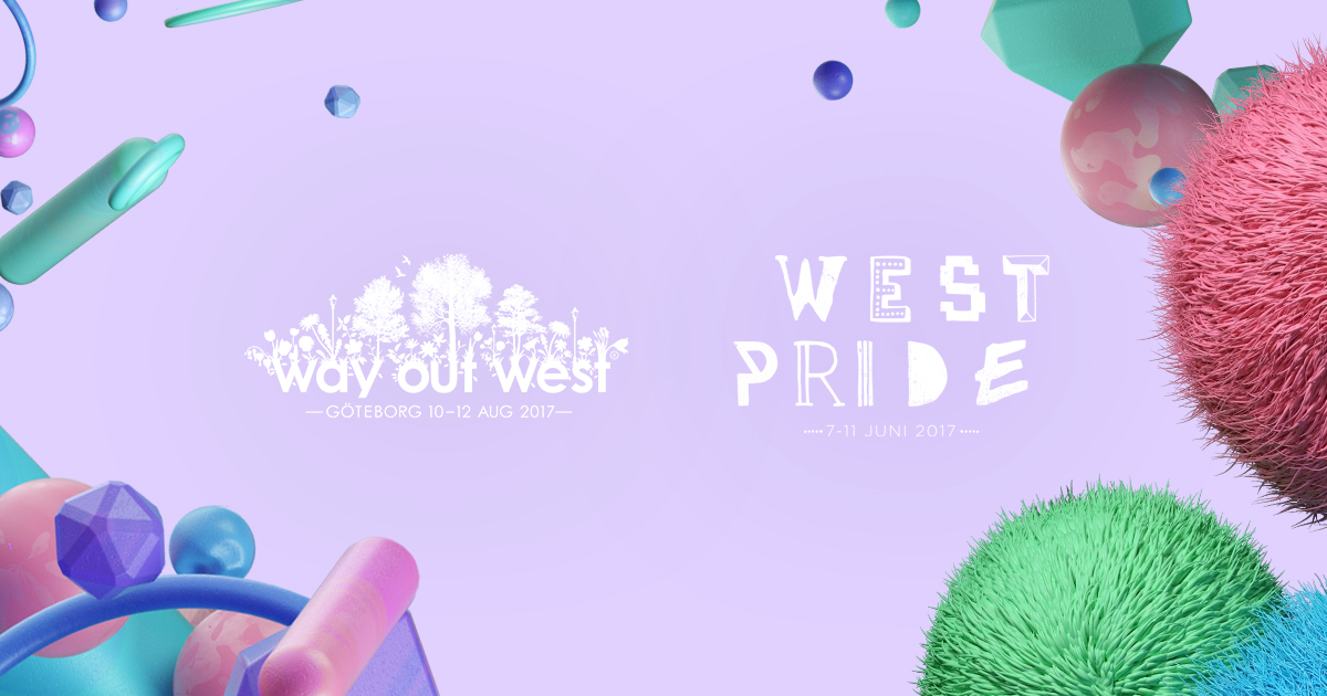 West Pride och Way Out West inleder samarbete