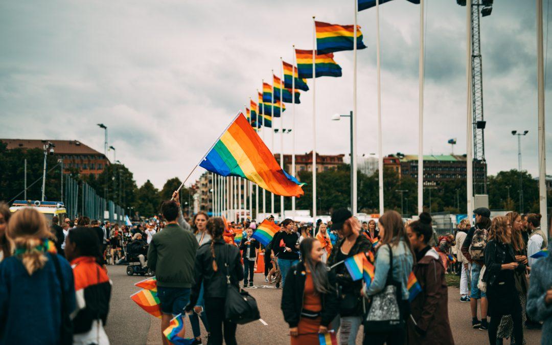Regnbågsflaggning i Göteborg