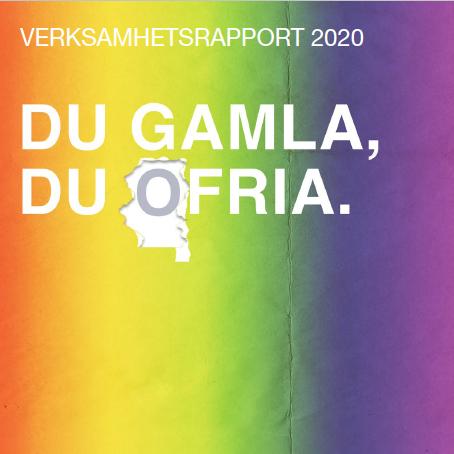 Verksamhetsrapport 2020 är här