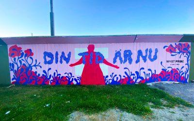 Du har väl inte missat Göteborgs snyggaste väggmålning?!