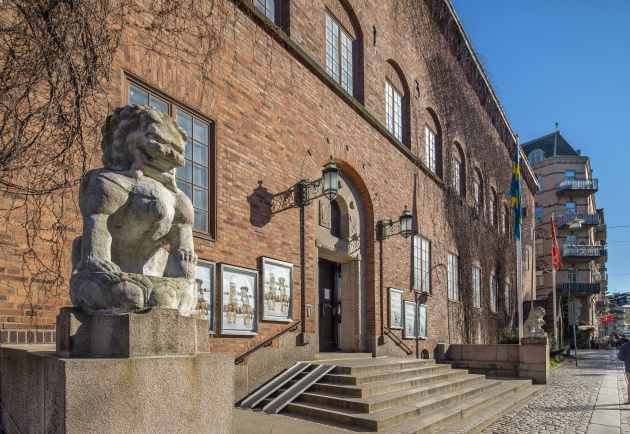 röhsska museets ingång